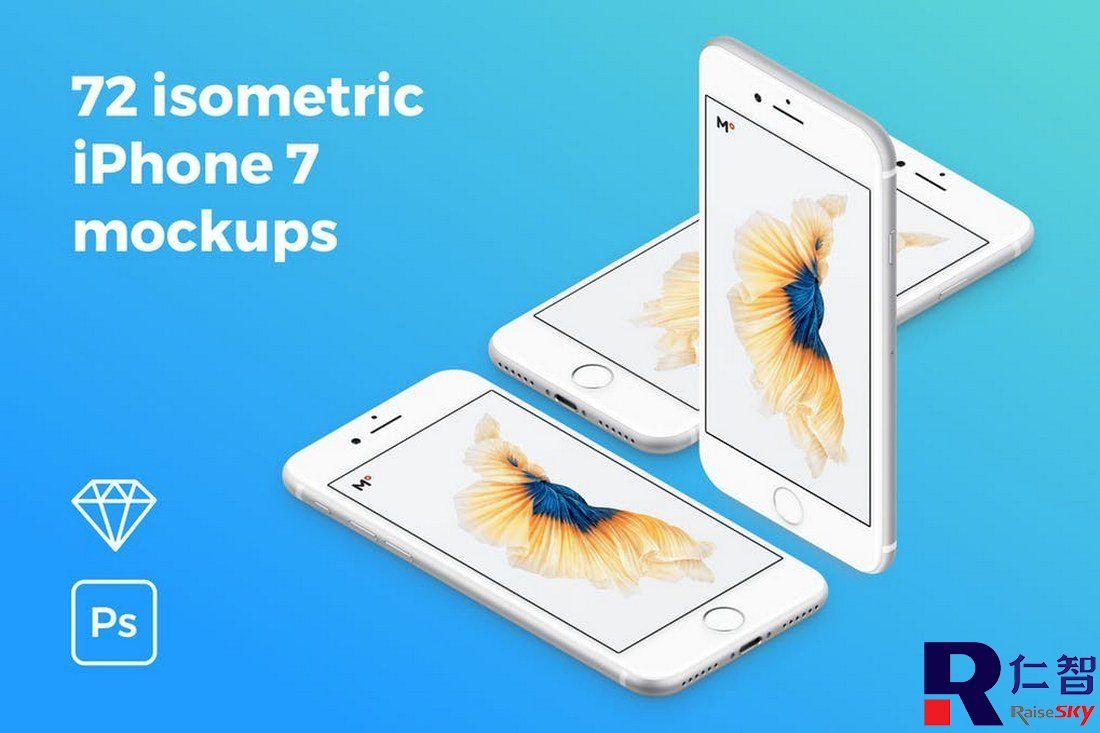 20+ Best Isometric Mockup Templates